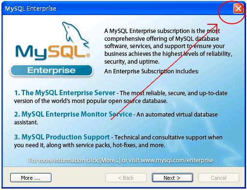 e3系统-mysql(win)安装说明
